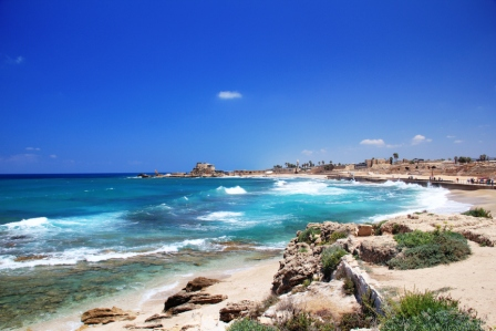 CAESAREA: A ROMANTIC SEASIDE DALLIANCE WITH HISTORY